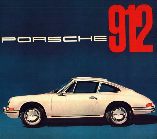 Porsche 912 Brochures Prices and Options